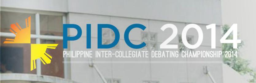 Philippine Inter-Collegiate Debating Championship 2014 | April 3-7 | UP Diliman
