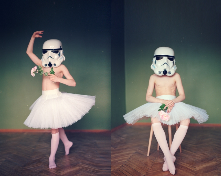 Stormtrooper: A portrait of a 12-year-old boy who hides his aspirations to be a ballet dancer from his friends.