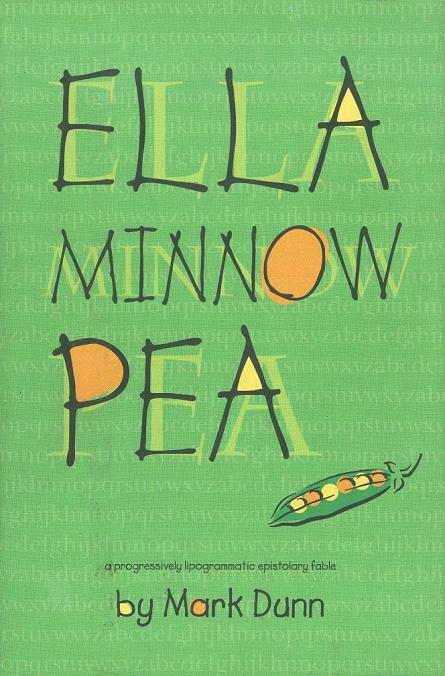 Mark Dunn's Ella Minnow Pea is an epistolary novel with a charming premise: in a fictitious nation built on the power of language, strange and arbitrary edicts have forced the people to slowly lose their letters. (Literally).  It's a light story covering heavy dystopic themes. Not necessarily groundbreaking, fully coherent or astonishing, but its charm for an hour-or-two makes it a must-read.