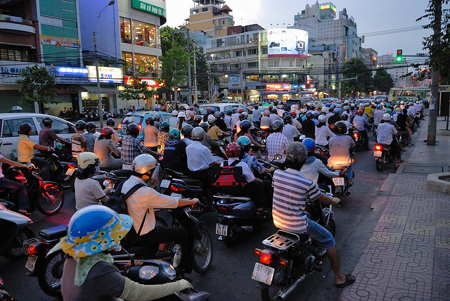 You're already incensed by the occasional irritating and wild motorist in Manila highways. Imagine that a hundredfold in Ho Chi Minh City, Vietnam.