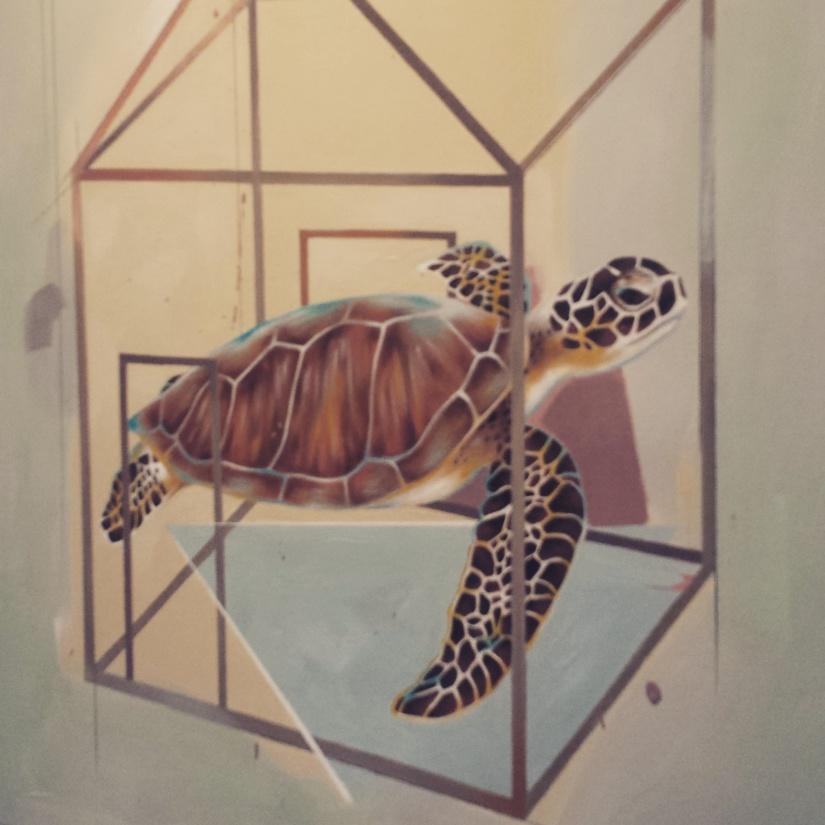 "Domesticated: Turtle  ""Sure and Steady"" Janet Balbarona"