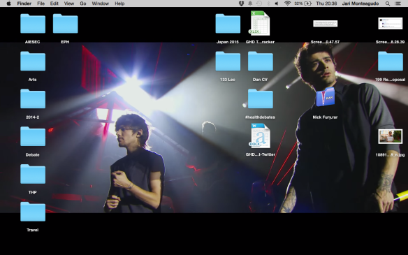This has been my desktop background for the last five hundred years, by the way. #AlwaysInOurHeartsZayn