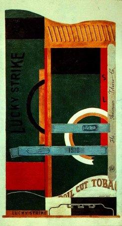 Stuart Davis, Lucky Strike (1921)