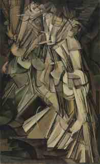Marcel Duchamp, Nude Descending a Staircase (1912)