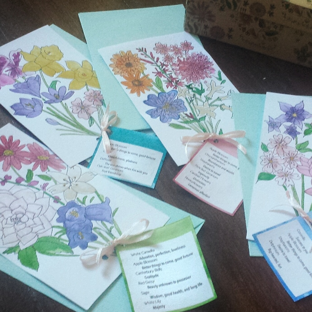 Floriography Cards:Give out thoughtful and unique messages without having to say anything at all.